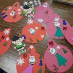 Santa&Elves ornament