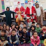 A picture with Santa Claus and Friends!
