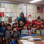 Picture with Santa Claus